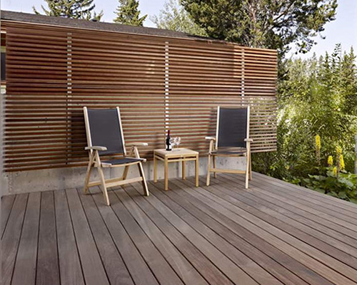 Undercover decking and screen
