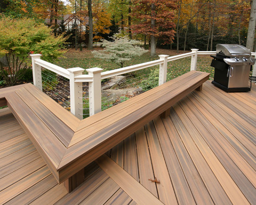 Composite Decking for allweather