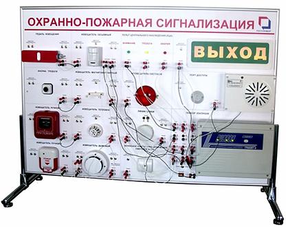 Стенд «Охранно-пожарная сигнализация»