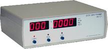 Цифровой измеритель временных интервалов (без управления гироскопом)