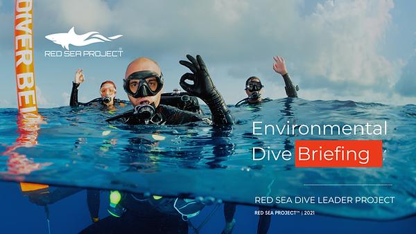 Environmental Dive Briefing For Professi