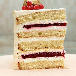 Торт на заказ Клюквенный