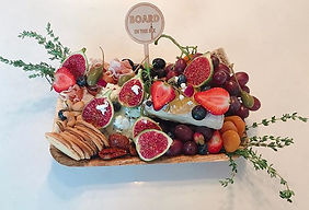 Small Romantic Biodegradable Board Platter Delivery