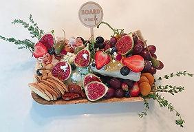 Small Romantic Biodegradable Board Platter Delivery