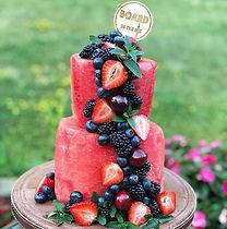Healthy Cake - Watermelon