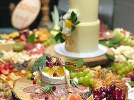 Birthday Party Grazing Table Board in the Six