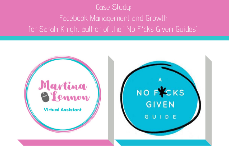 Case Study: Facebook Management and Growth for Sarah Knight author of the 'No F*cks Given Guides'
