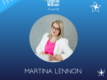 Martina Lennon Finalist for Virtual Assistant of the Year at Inaugural Digital Women Awards