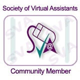 Society of Virtual Assistants Community Member