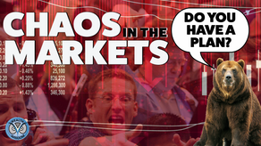 Chaos In The Markets! Market Update March 15th, 2020
