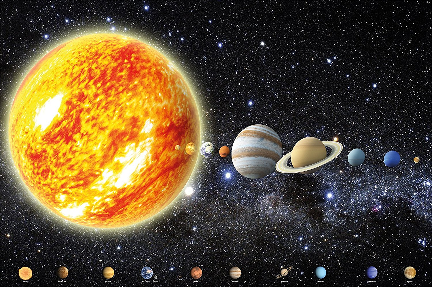 universe solar system stars and galaxies - HD1500×997