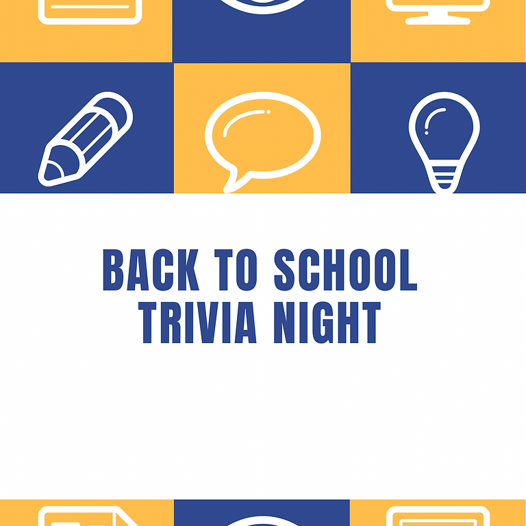 Back to School Trivia Night