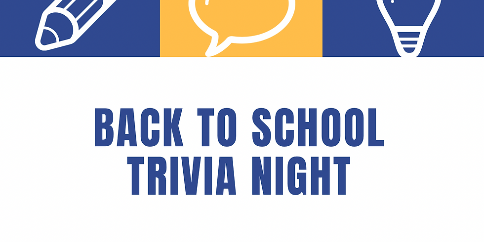 Trivia Night ** no new table bookings available