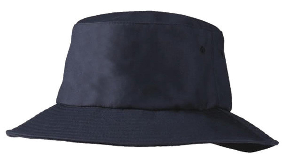 New Style Bucket Hat (navy with logo)