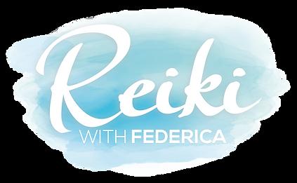 logo reiki with federica