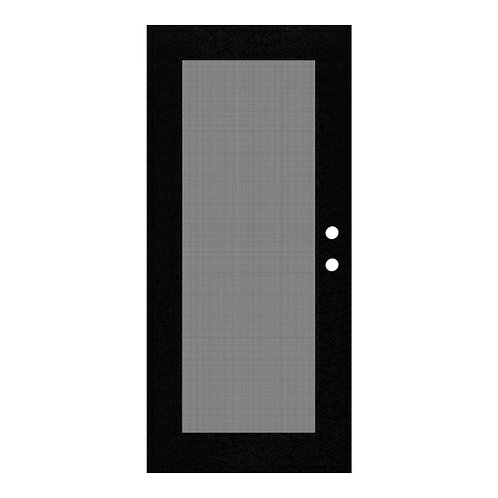 PolarBear Pro Single Hinged Storm Door with Security Screen