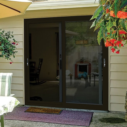 PolarBear Tech Meshtec Double Ultimate Aluminum home designs security door