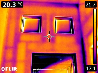 IR - Thermal bridging.