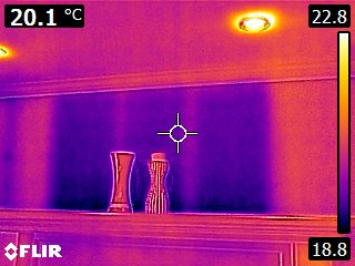 IR - Missing Insulation.