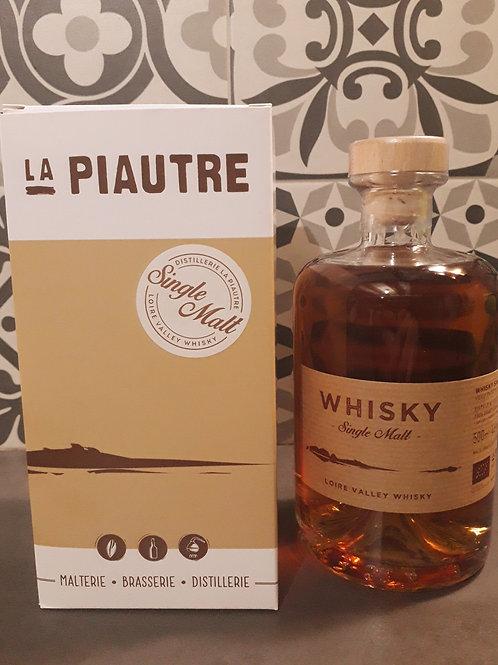 """Whisky La Piautre """"Single Malt"""" 50cl 46°"""