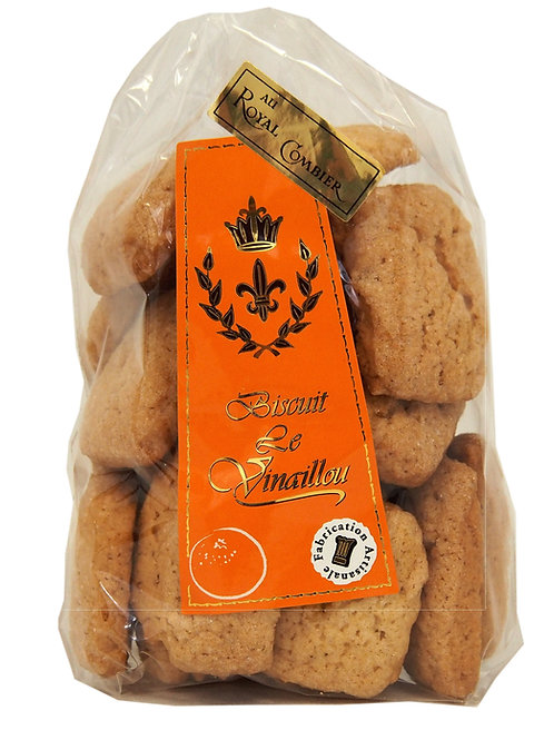 Biscuits Le Vinaillou au Royal Combier