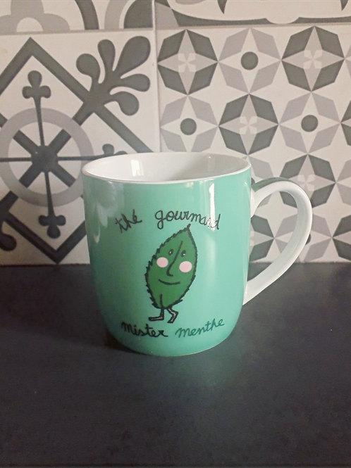 Mug thé gourmand Mr menthe
