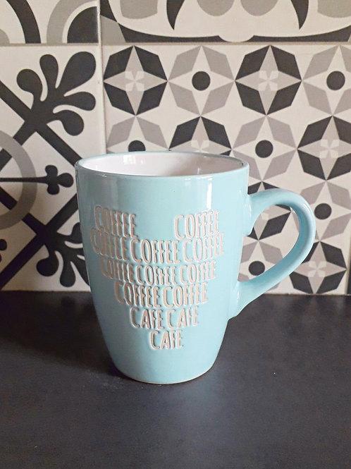 Mug Café bleu ciel
