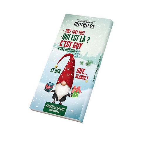 Tablette Chocolat au lait de Noël 100 g