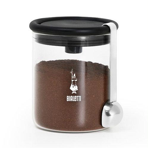 Pot à café 250g en verre + cuillère à doser - BIALETTI
