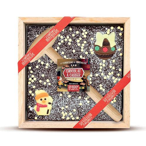 Chocolat à Casser Noir Noël