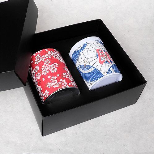 Coffret cadeau pour boîtes à thé 100gr