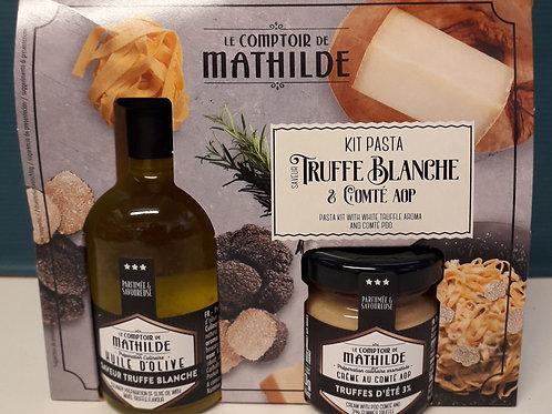 Kit Pasta saveur Truffe Blanche et Compté AOP