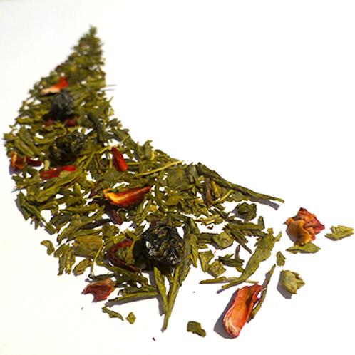 Thé vert Petits fruits rouges