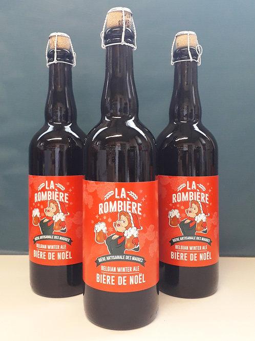 """Bière de Noël - """"Brasserie La Rombière"""""""
