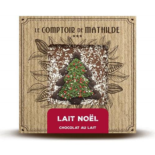 Edition de Noël Chocolat au Lait - Tablette de Chocolat