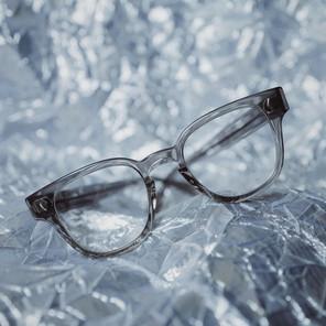 Julius Tart Optical // Bryan in Grey Crystal