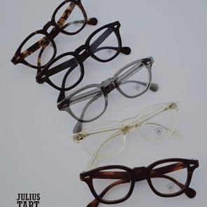"New Arrival // Julius Tart Optical ""AR"" Size 48"