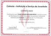 Certificado Colmeia