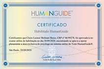Certificado Human Guide Cleire Bosio Ori