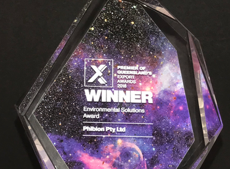 QUEENSLAND EXPORT AWARDS WINNER 2018