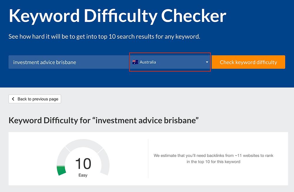Finding Financial Service SEO Keywords