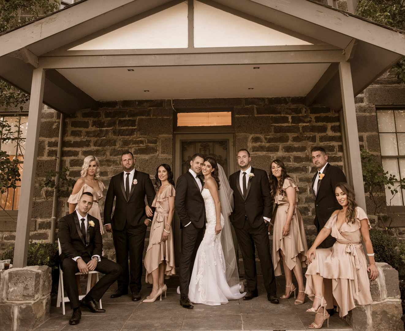 Bridal Party | Meadowbank Estate | Wedding Venue | Campbellfield