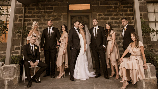 Bridal Party | Meadowbank Estate | Wedding Venue | Campbellfield