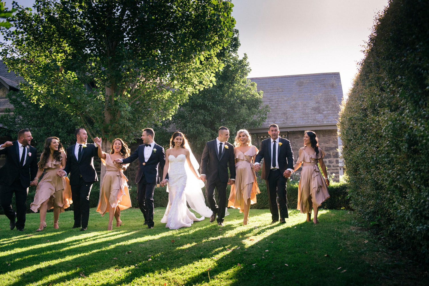 Groomsman and Bridesmaids | Meadowbank Estate | Wedding Venue | Campbellfield