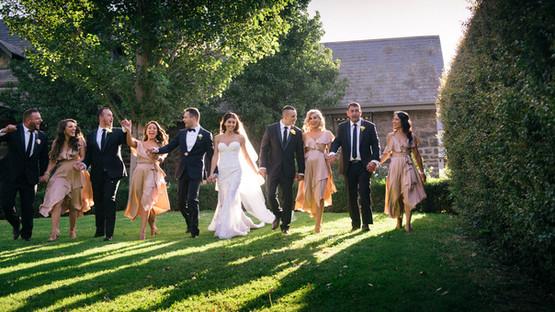 Groomsman and Bridesmaids | Meadowbank Estate | Wedding Venue | Campbellfield