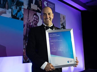 David Reiner - Telstra New Business award