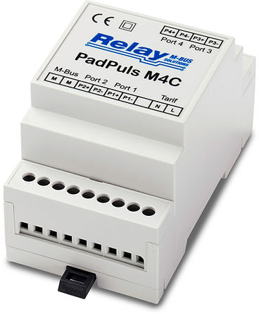 PadPuls M4C | Relay Australia | M-Bus | Automation Industries