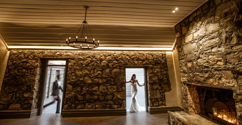 Wedding Fireplace | Meadowbank Estate | Wedding Venue | Campbellfield