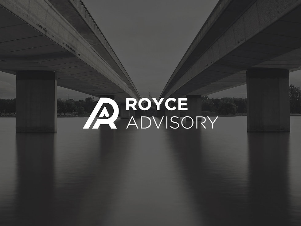 Royce Advisory financial website design by Capital Design