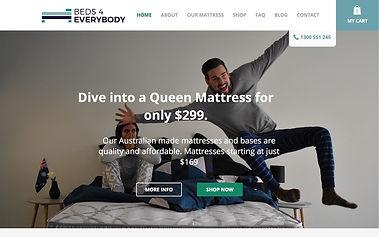 Beds 4 Everybody - Wix Pro Designer